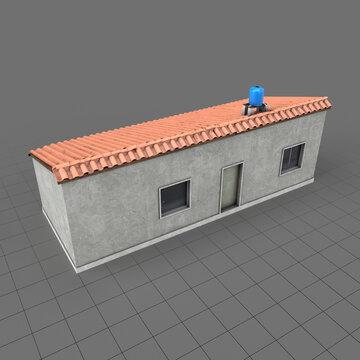 Favela building 1