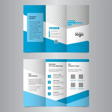 Corporate Tri-Fold Brochure Design Template
