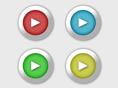 再生ボタンのイラスト