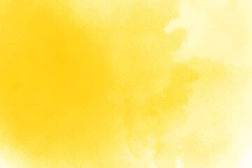 yellow watercolor card background - fototapety na wymiar