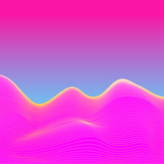 Fotorolgordijn Retro sign abstract background