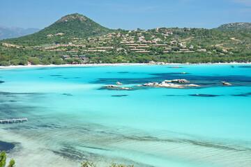 Papiers peints Bleu clair Baie de Santa Giulia