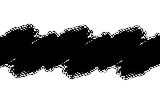 bandeau titre noir sur fond blanc