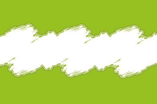 bandeau titre vert clair sur fond