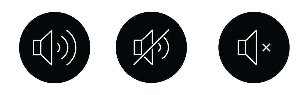 Sound | Speaker | Icon | Button