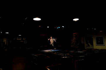 Tavern-restaurant and flamenco tablao Casa Patas during coronavirus disease (COVID-19) in Madrid