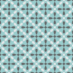 Tile vector pattern for seamless decoration wallpaper tile fashion background