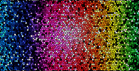 abstract background with colorful dots Rainbow