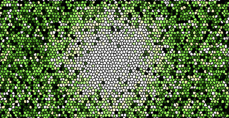Foto op Canvas Graffiti collage green binary code background