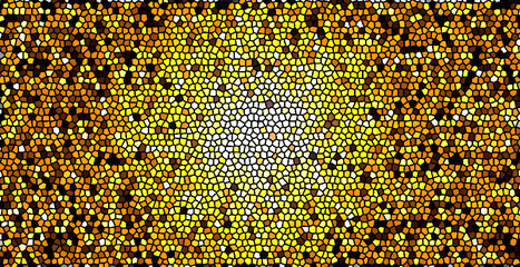 Foto op Canvas Graffiti collage seamless pattern of yellow dots Abstract Background