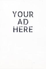Fototapeta Your ad here! obraz