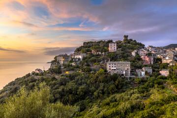 Wall Mural - Mountain Village Corsica