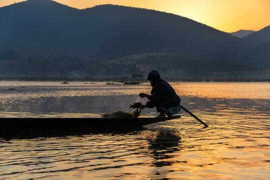 Fishing on Inle Lake, Myanmar