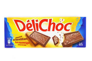 boite de biscuits de marque Délichoc