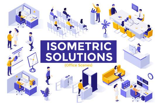 Isometric vector illustration