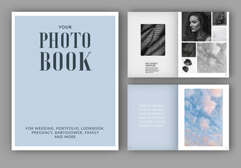 Photo Album Book Layout