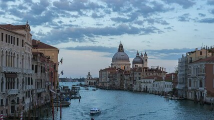Wall Mural - Venice city with view of Canal in Italy