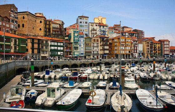 Village coloré de Bermeo Pays Basque Espagne