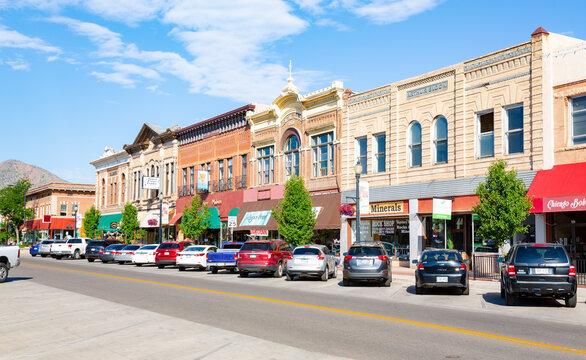 Scenic downtown in Canon City,  Colorado, USA
