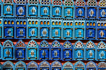 Bright magnets on the moroccan market.