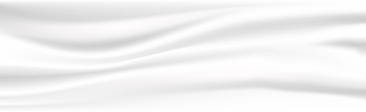 Abstract white cloth vector background. Vector illustration.