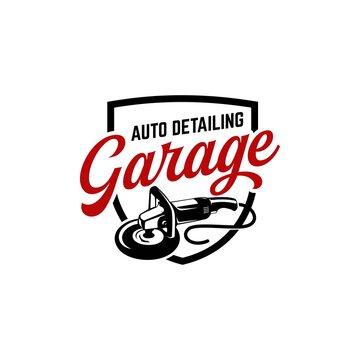auto detailing logo polisher car