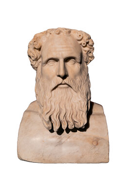 Ancient stoic philosopher Zeno of Citium (334-262 BC).