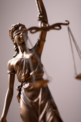 Law and Order, legal symbol the Scales of Justice..