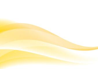 Fotobehang Fractal waves アブストラクト 曲線 背景 オレンジ