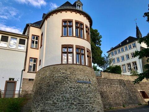 Römermauer / Römerwall in Bitburg (Rheinland-Pfalz)
