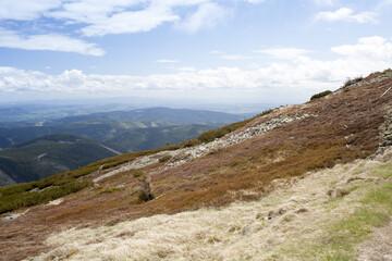 Fototapeta widok z karkonoskich szlaków obraz