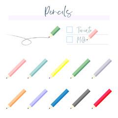 RGB pencil illustration
