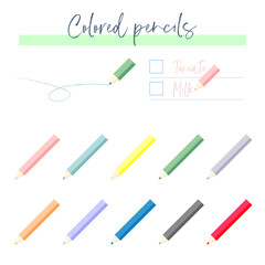 RGB colored pencil illustration