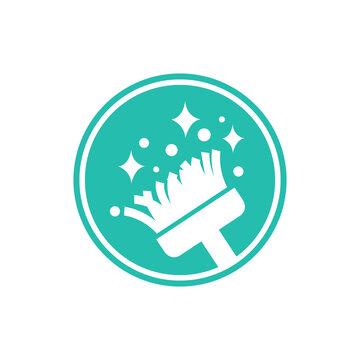 청소업체 로고, 아이콘