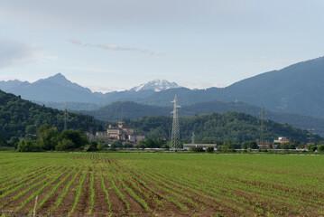 Italien - Lombardei - Provinz Bergamo - Umland bei Ronda