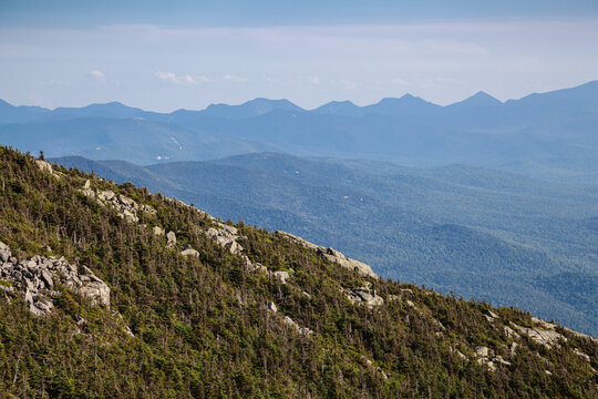 Adirondack Mountains view from White Face