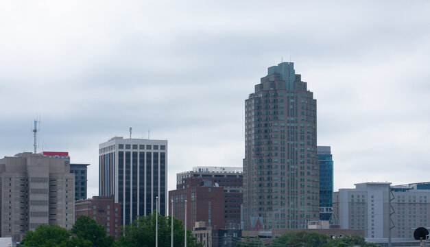 A city scape of Raleigh, North Carolina