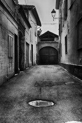 Canvas Prints Narrow alley Vie strette (Sale) - AL