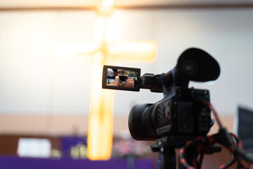 Christian worship and holy communion online.