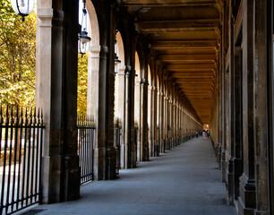 Fotobehang Brug PARIS AUTUMN DAY