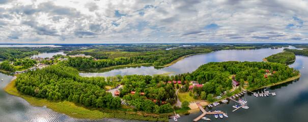 Photo sur Aluminium Vieux rose Mazury-kraina tysiąca jezior w północno-wschodniej Polsce
