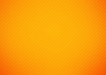 Abstract orange vector background with stripes, Diagonal lines pattern