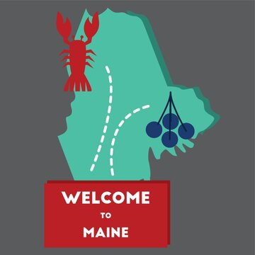 welcome to maine state