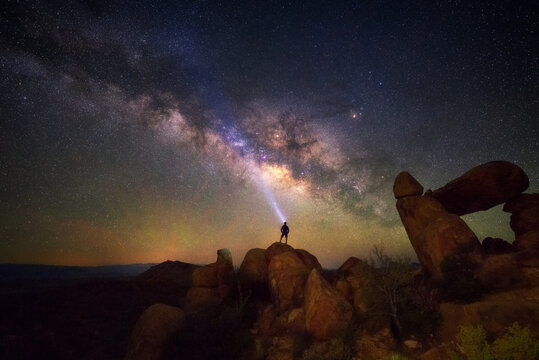 Milky way at Big Bend National Park