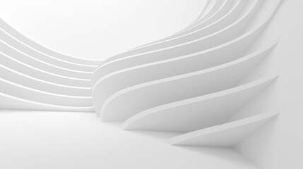Fotobehang - Modern Structure Wallpaper. White Business Texture