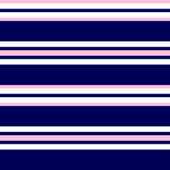 Pink and Navy Stripe seamless pattern background in horizontal style - Pink and Navy Horizontal striped seamless pattern background suitable for fashion textiles, graphics