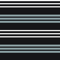 Black and White Stripe seamless pattern background in horizontal style - Black and white Horizontal striped seamless pattern background suitable for fashion textiles, graphics