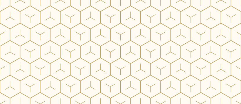 Background pattern seamless geometric abstract gold luxury color and line. Geometric line vector. Luxury create background design.