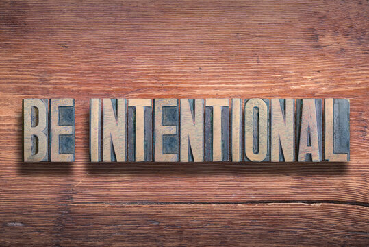 be intentional wood