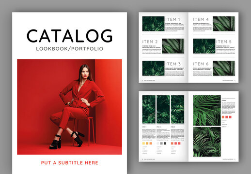 Catalog Portfolio Layout